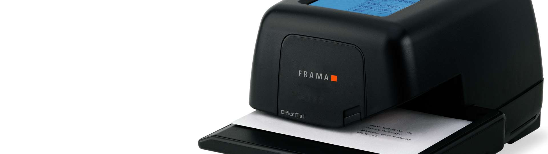 OfficeMail is the world's fastest thermal printing franking machine of its time.