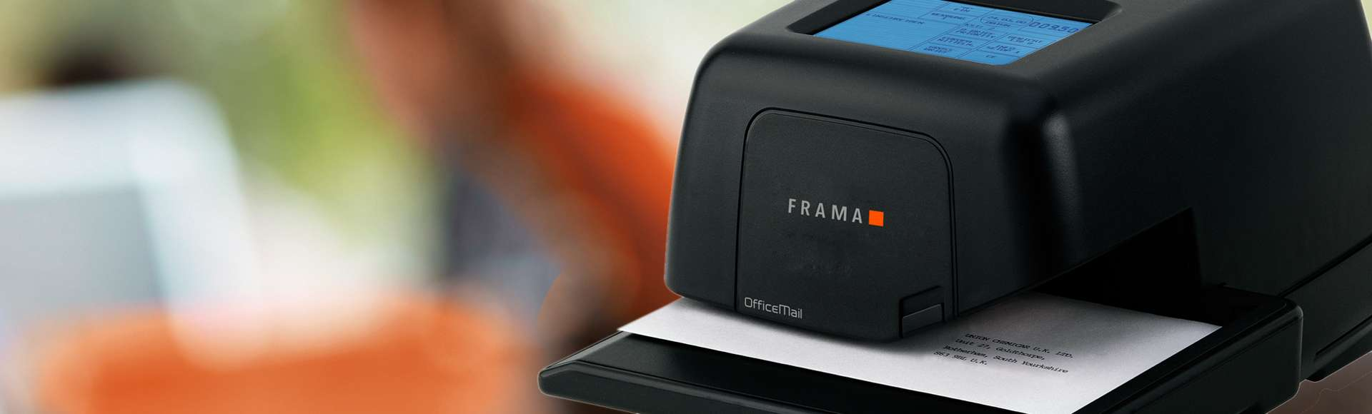 Frama PTY has a range of products from franking machines to letter openers.
